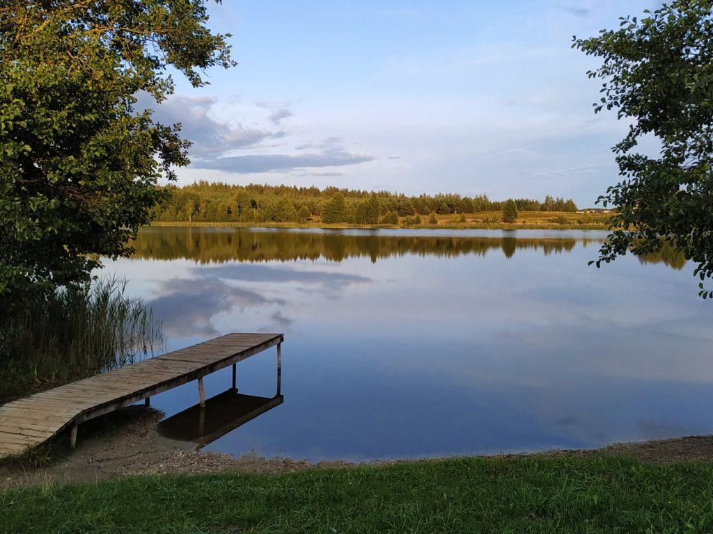 Озеро Белое. Глубокский район Витебская область