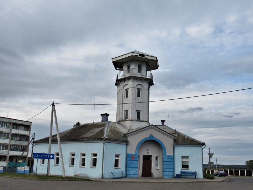 Бывшее пожарное депо Бытень.