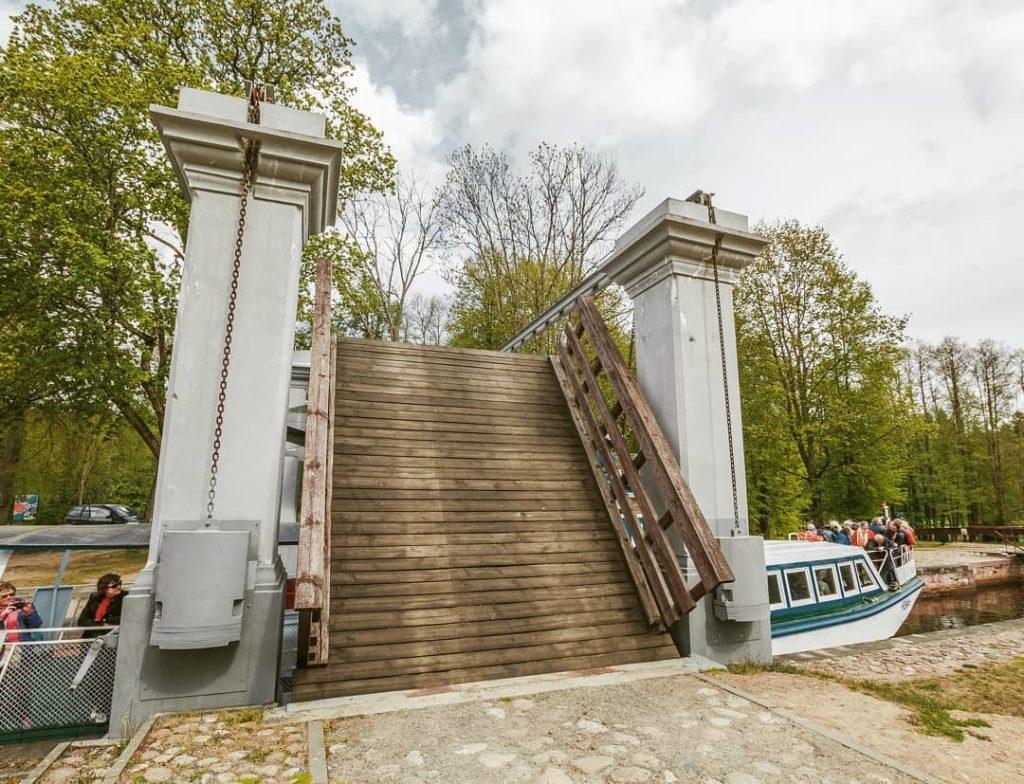 Шлюз «Домбровка» Августовский канал