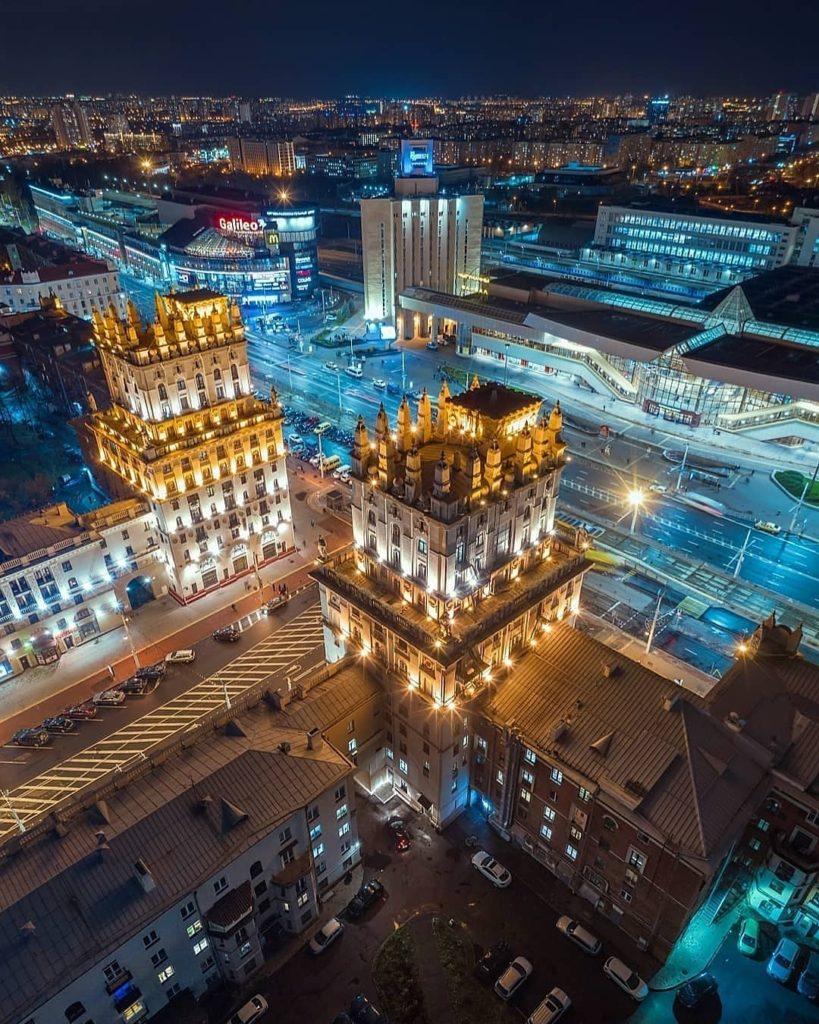Минск. Привокзальная площадь. Minsk