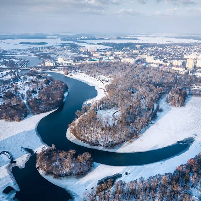 Минск зимой. Minsk