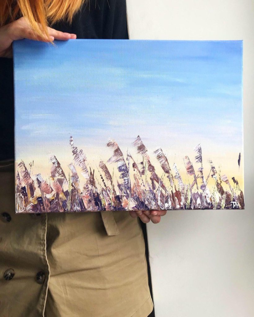 Картина Татьяны Корвин-Кучинской