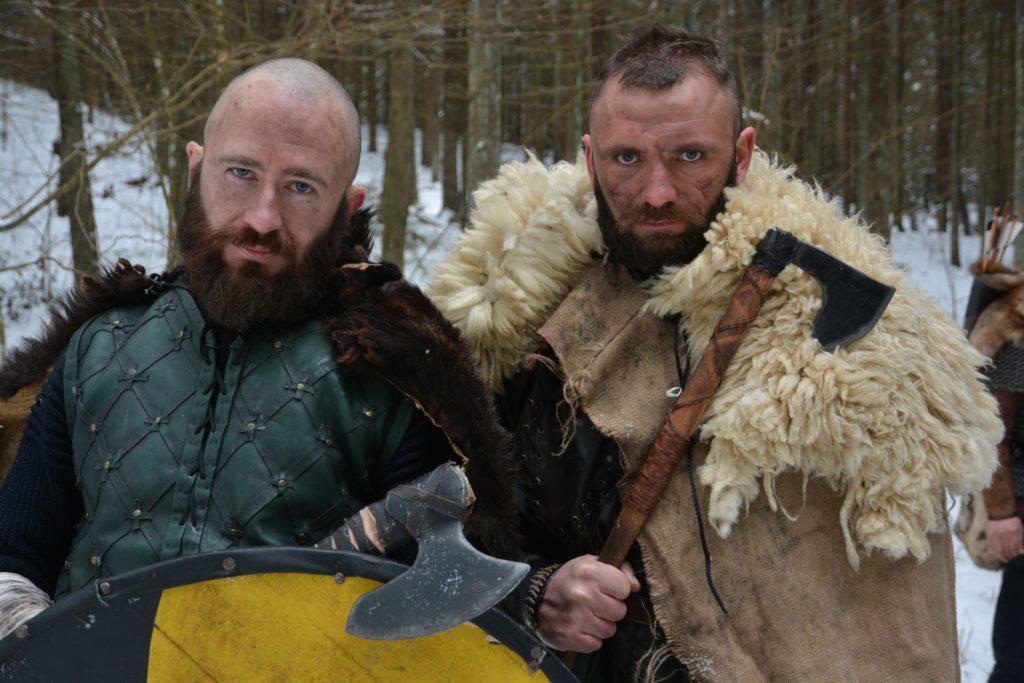 На съемках фильма  «Викинги. Перед лицом Одина»
